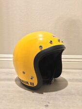 1975 Vintage 3/4 Bell Magnum 3 Helmet Super RT Magnum III Toptex Snell 500 TX