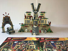 Lego 7627 INDIANA JONES Set TEMPLE OF THE CRYSTAL SKULL 100% Complete Retired