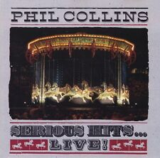 Phil Collins - Serious Hits...Live ! - Album Musik CD - 15 Tracks WEA Music 1990