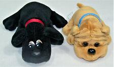 Vtg 80s Toy Kennel Kuddlee Pound Puppies Mini Small Plush Stuffed Dog Tara