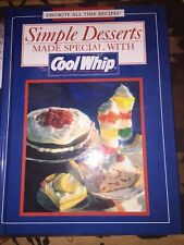 Simple Desserts Made Special with Cool Whip Hardback Cookbook
