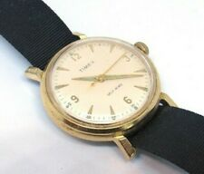 Vintage JUMBO Oversized TIMEX Self-Winding Wrist Watch (Nice!)