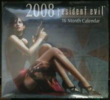 Resident Evil 16 Month Calendar 2008 NEW