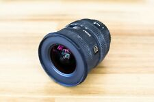 Sigma EX 10-20mm F/4.0-5.6 HSM DC EX Lens Canon Cameras - perfect working order