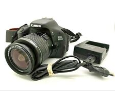 Canon EOS 600D 18.0MP Digital SLR Camera - Kit w/ EF-S 18-55mm III + Charger