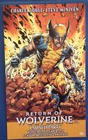 2019 Return Of Wolverine Logan Promotional Card Marvel Comics X-Men Mutant Party