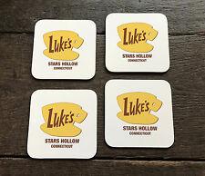 Lukes Diner -Stars Hollow - 4 Coaster Set