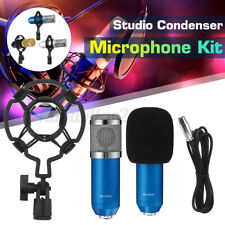 BM800 Kondensator Mikrofon set Professionell Komplett Set für Studio Live  A