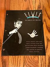 ELVIS THE KING OF ROCK N ROLL THE COMPLETE 50'S MASTERS INSERT FROM BOX SET