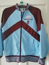 Retro West Ham United Football FA CUP FINAL 1980 Track Top Score Draw Small