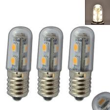 3x E14 LED 1 Watt warmweiß SES Glühbirne Leuchtmittel Kühlschrank Birne klein