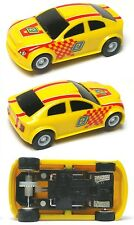 2015 Micro Scalextric G1119 My First Scalextric YELLOW 1:64 HO Slot Car UNUSED
