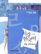 Sogang Korean 3A Student's Book With CD Korean Language