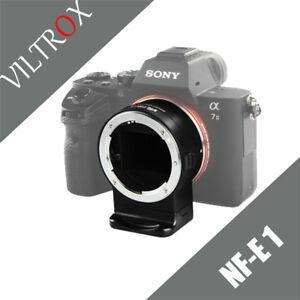 Auto Focus NF-E1 NF-NEX AF Nikon F to Sony E Mount Lens Adapter A7 A6300 A6500