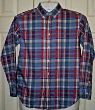 Ralph Lauren Polo Long Sleeve Shirt Plaid Boys L (14-16)