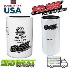 Fass Fuel System Replacement Fuel Filter & Extreme Water Separator HD Series