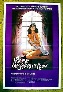 """SISTERS IN LIFE, SISTERS IN DEATH /1970 posterl 27x41 -- """"HOUSE ON SORORITY ROW"""""""