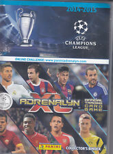 Panini Adrenalyn XL Champions League 2014/2015  Sammelmappe mit ca. 250 Bilder