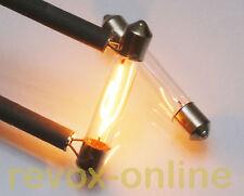 Soffitten 24V, Lampen, Lämpchen für alle Revox B760 Tuner, lamps, bulb, 2 Stück
