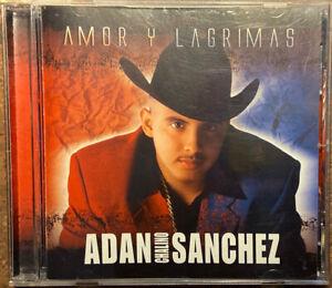 """Amor y Lagrimas by Adan """"Chalino"""" Sanchez (CD, Apr-2004, Sony Music) VG"""