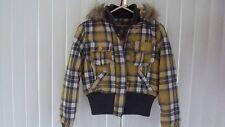 New With Tags Girls Plaid Winter Jacket Joujou Size Small