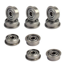10x 3x10x4mm Mini Metal Flange Ball Shielded Bearing Fits Deep Groove 3D Printer