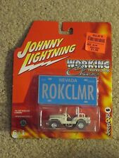 Johnny Lightning Working Class Jeep CJ5 Nevada Rokclmr 1:64 Scale MOC 2005