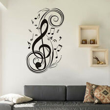 Music Wall Stickers DIY Musical Note Home Decor Wall Decals Kids Room Home Decor