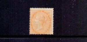 INDIA 1865 2a ORANGE SG62 HEAVILY MOUNTED MINT CAT £150
