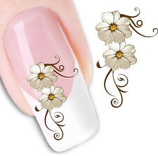 FD1615 New 3D Design Beauty Nail Stickers Nail Art DIY Stickers Decals ~Flower~