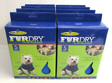 Lot of 8 Furminator FurDry For Dogs Small Wet Dry BLUE Wholesale NEW