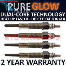 4x Diesel Heater Glow Plugs For Ford Kia Mazda Suzuki 2.0 TD  Dual Core