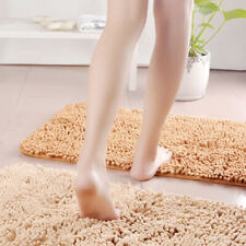 Bathroom Shower Bath Mat Rug Carpet Non-Slip Cushion 10 Colors M