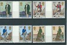 GB - COMMEMS - 1979 - SIR ROWLAND HILL  - GUTTER PAIRS   - UNM. MINT SETS