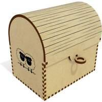 'Pair Of Sheep' Treasure Chest / Jewellery Box (TC00016750)