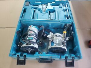 Makita RF1101 2‑1/4 HP wood Router with Base kit plunge and case included