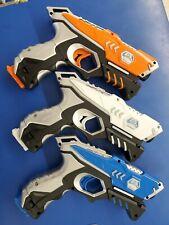 Attack CSTAR Laser Tag Guns. Only 3