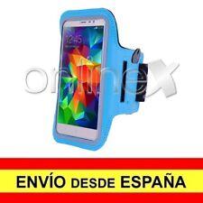 Brazalete Deportivo Neopreno Azul Claro para SAMSUNG GALAXY NOTE 9 a3284