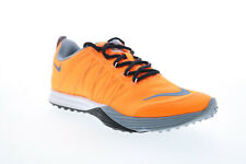 Nike Lunar Cross Element Womens Orange Low Top Athletic Cross Training Shoes 7