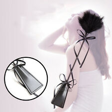 Sex MISCHIEF Rubber Whip Feather Tickler Bondage Tease 50 Shades Adult Sex Toy