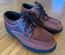 Panama Jack Leather Shoes Women's Size 8.5 Brown Low Top Boots EUC