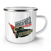 American Muscle NEW Enamel Tea Mug 10 oz   Wellcoda