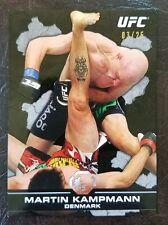 *RARE* 2013 Topps UFC Bloodlines MARTIN KAMPMANN Black Parallel (03/25) UFC MMA
