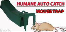 REUSABLE HUMANE LIVE MOUSE TRAP AUTO CATCHER MICE PEST CONTROL NO POISON NEW