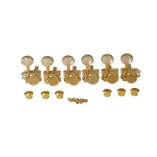 Musiclily Pro Gold 6 Inline Vintage Locking Tuning Peg Machine For Squier Guitar