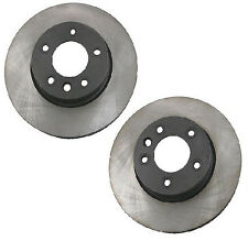 For Porsche Cayenne Pair Set of Front Left & Right Disc Brake Rotors OPparts