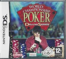 Nintendo DS ~2DS~ 3DS World Championship Poker Deluxe Series New Sealed