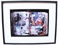 Peter Beard Original Framed Scrapbook Photograph