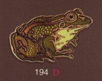 Pin's Folies ** Badge Demons & Merveilles Animaux Grenouille frog