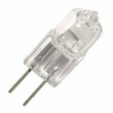 Minimum order of 3 JC12V20W 20 WATT 12 VOLT T3 BI-PIN G4 BASE CLEAR HALOGEN BULB